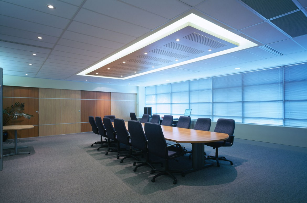 What's the latest design trend in the boardroom and waiting areas