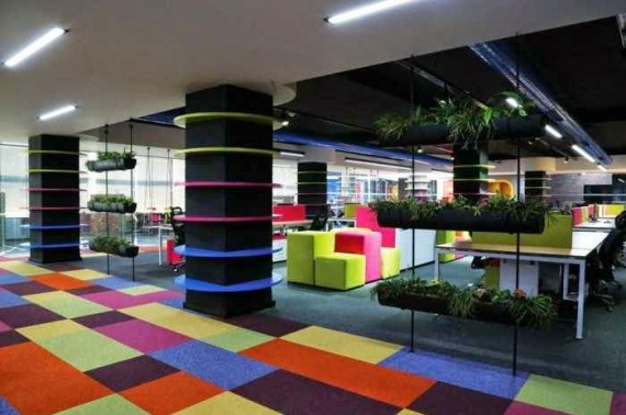10 Unconventional Creative Office Space Design Ideas