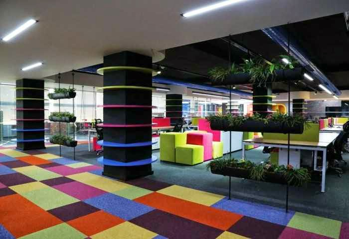 Super 10 Unconventional Creative Office Space Design Ideas Largest Home Design Picture Inspirations Pitcheantrous